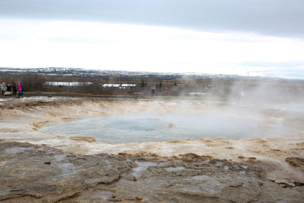 Bows & Sequins Iceland Travel Guide: Strokkur Geysir on Golden Circle Tour