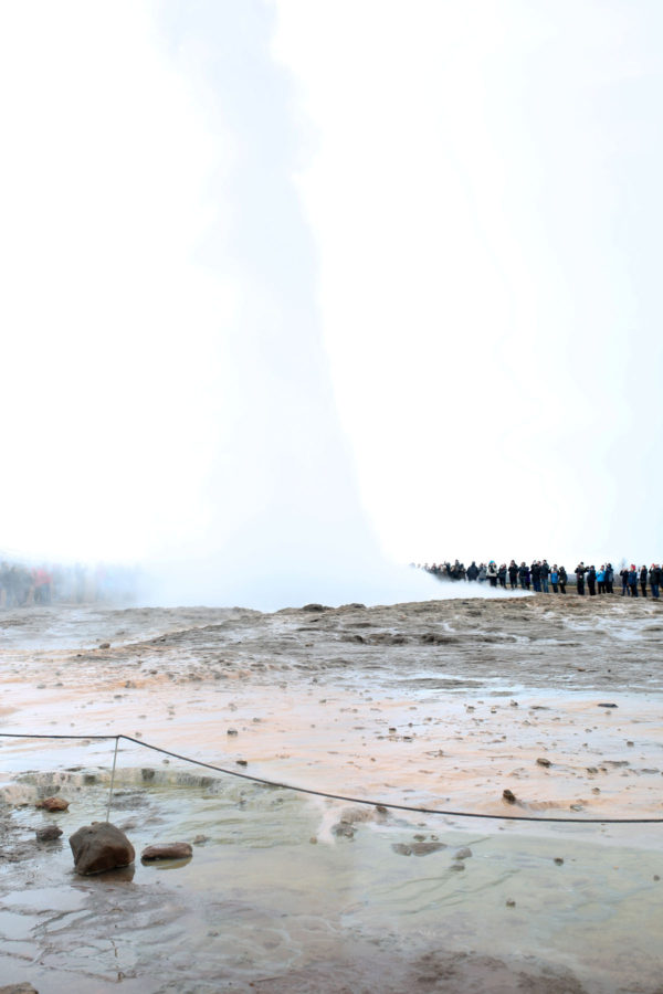 Bows & Sequins Iceland Travel Guide: Strokkur Geysir on Golden Circle