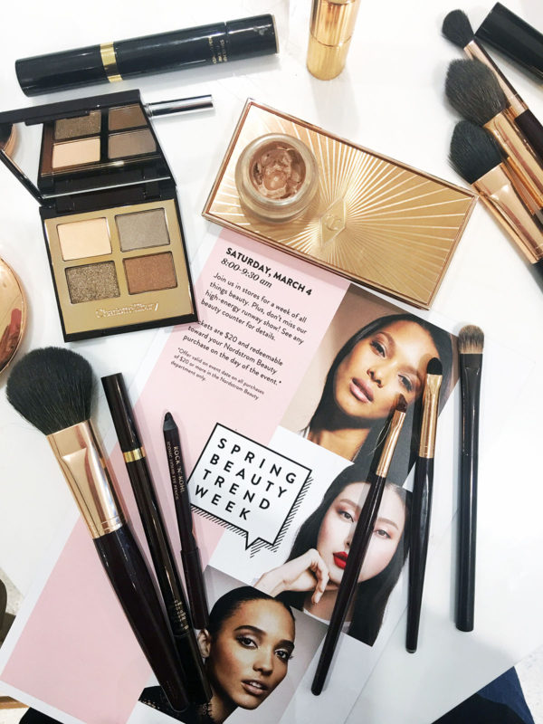 Bows & Sequins visits Nordstrom for all of the latest spring beauty trends!
