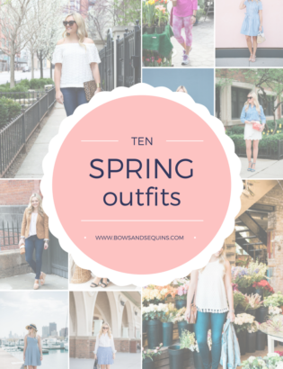 Bows & Sequins shares ten outfits to wear this spring!
