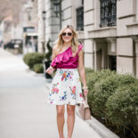 Spring Must-Have: Ruffled One-Shoulder Top