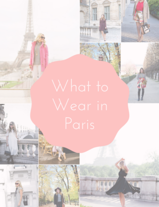 Bows & Sequins shares outfit ideas for your next trip to Paris