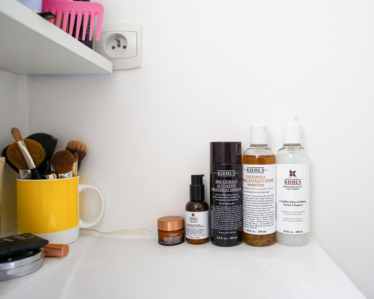 Bows & Sequins shares her beauty routine and favorite Kiehl's skincare products.
