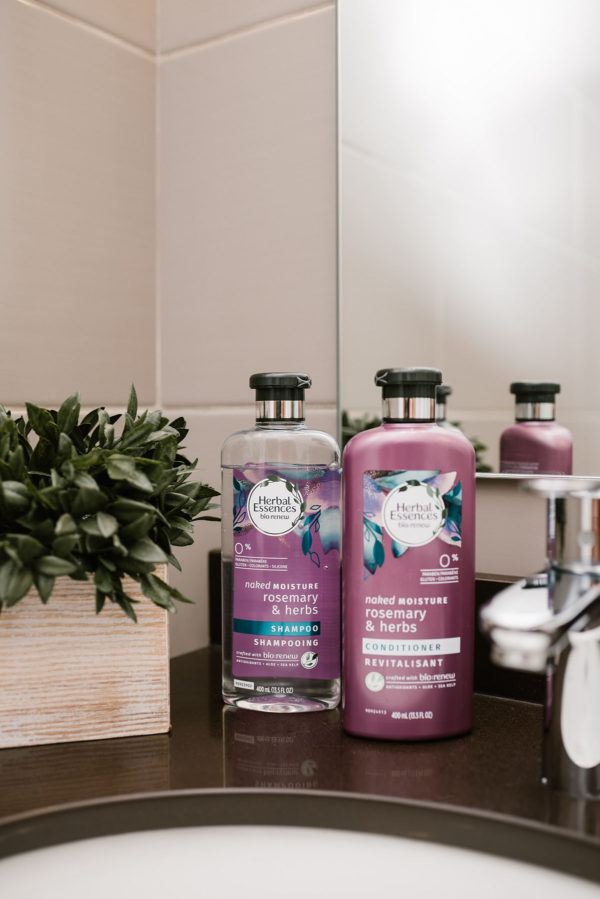 Herbal Essences bio:renew Naked Moisture Rosemary & Herb Shampoo & Conditioner