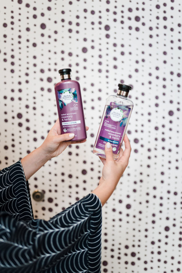 Herbal Essences bio:renew Naked Moisture Rosemary & Herb Shampoo & Conditioner