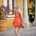Little Orange Dress