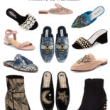 Snazzy Statement Shoes: Pearls, Patterns, & more