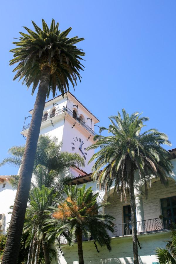 Bows & Sequins Santa Barbara Travel Guide: Clocktower