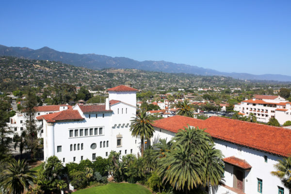 Bows & Sequins Santa Barbara Travel Guide: View from the top of the Clocktower