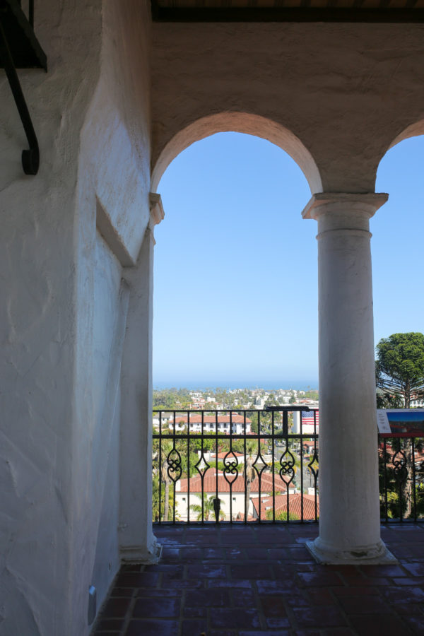 Bows & Sequins Santa Barbara Travel Guide: Top of the Clocktower