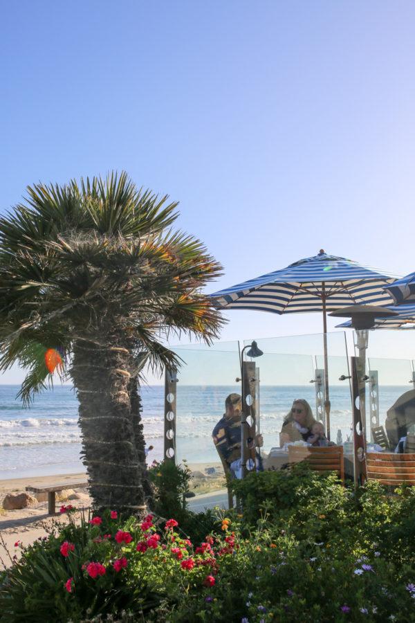 Bows & Sequins Santa Barbara Travel Guide: Boat House at Hendry's Beach
