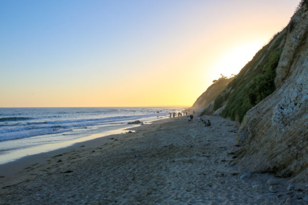 Bows & Sequins Santa Barbara Travel Guide: Sunset at Hendry's Beach