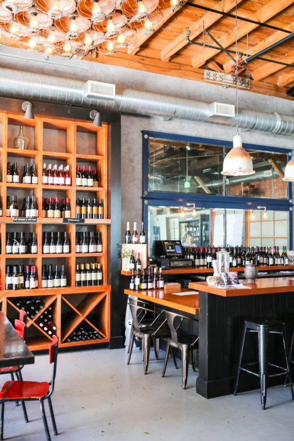 Bows & Sequins Santa Barbara Travel Guide: Wine Collective Funk Zone