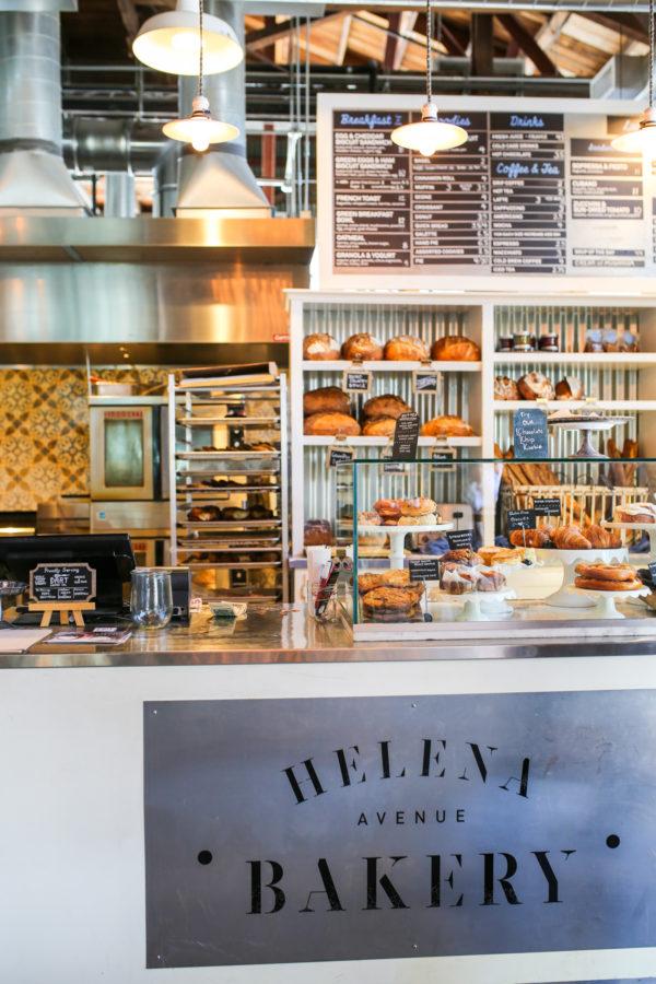 Bows & Sequins Santa Barbara Travel Guide: Helena Avenue Bakery Funk Zone