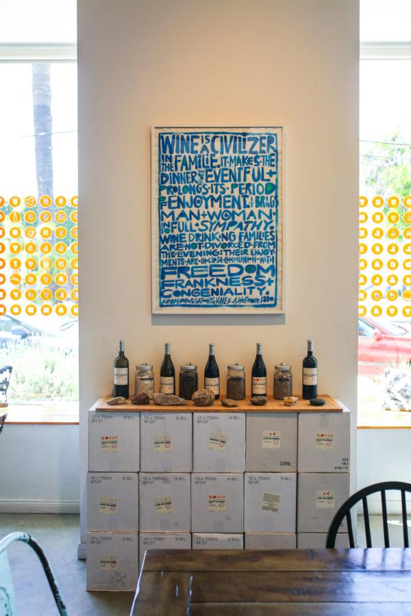 Bows & Sequins Santa Barbara Travel Guide: Funk Zone Wine Room