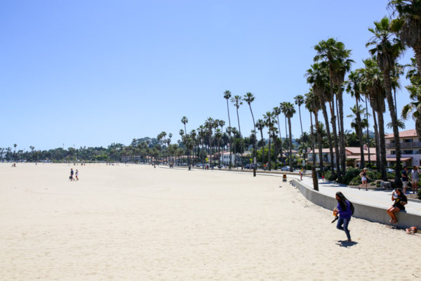 Bows & Sequins Santa Barbara Travel Guide: Beach by Stearns Wharf