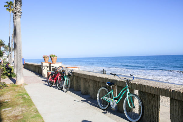 Bows & Sequins Santa Barbara Travel Guide: Biking Butterfly Beach