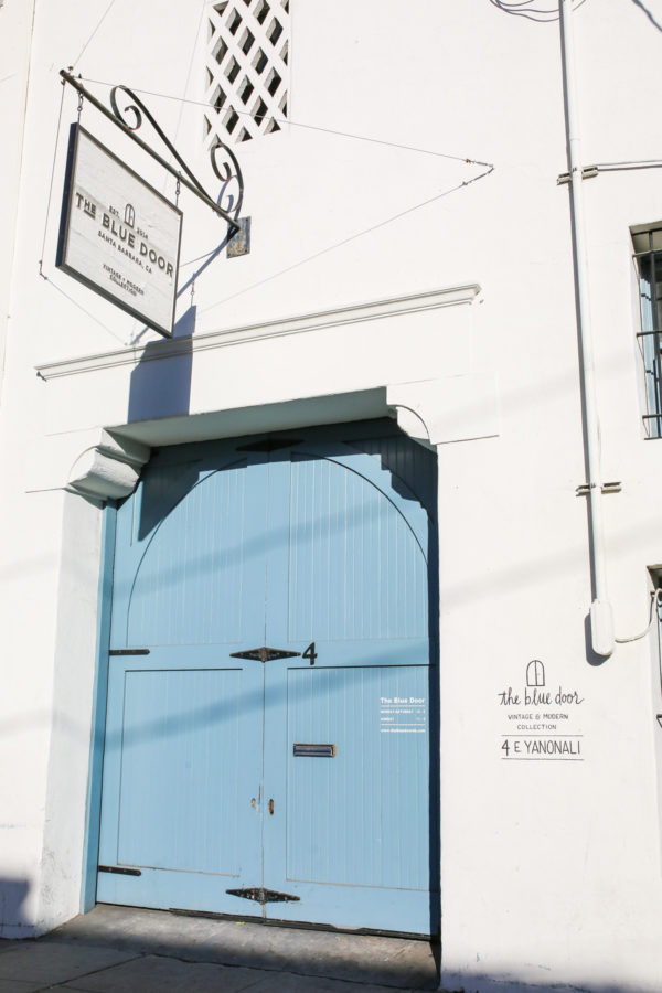 Bows & Sequins Santa Barbara Travel Guide: The Blue Door