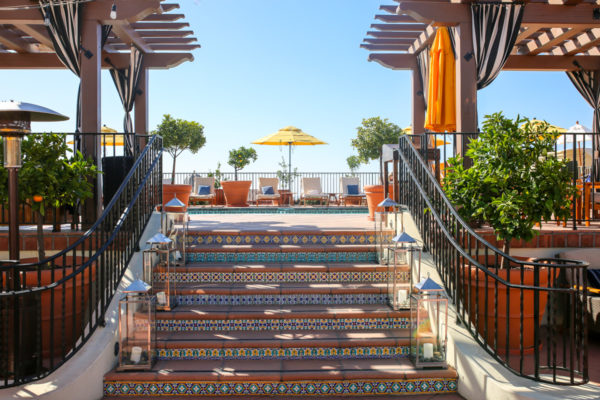 Bows & Sequins Santa Barbara Travel Guide: Kimpton Canary Hotel Rooftop