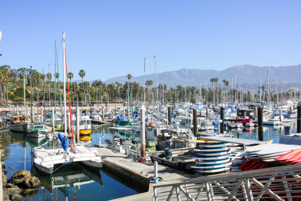 Bows & Sequins Santa Barbara Travel Guide: Santa Barbara Harbor