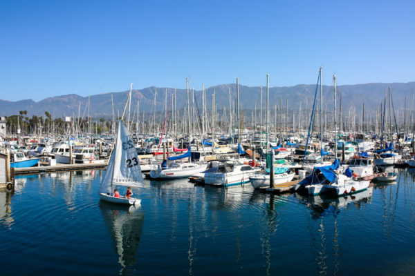 Bows & Sequins Santa Barbara Travel Guide: Santa Barbara Boat Harbor