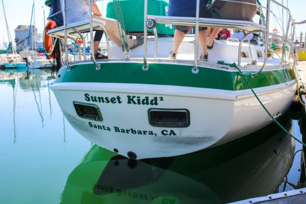 Bows & Sequins Santa Barbara Travel Guide: Sunset Kidd Sailing