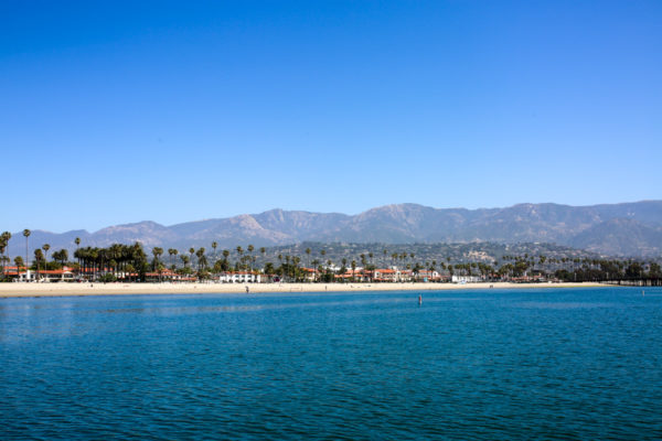 Bows & Sequins Santa Barbara Travel Guide: View from Sailing