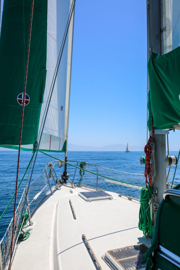 Bows & Sequins Santa Barbara Travel Guide: Sailing with Sunset Kidd