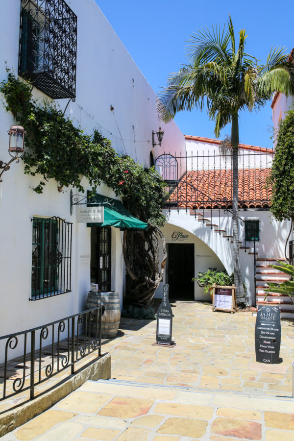 Bows & Sequins Santa Barbara Travel Guide: Margerum Wine El Paseo