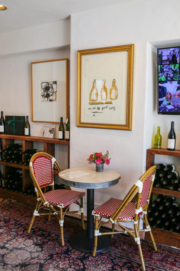 Bows & Sequins Santa Barbara Travel Guide: Margerum Wine Tasting Room