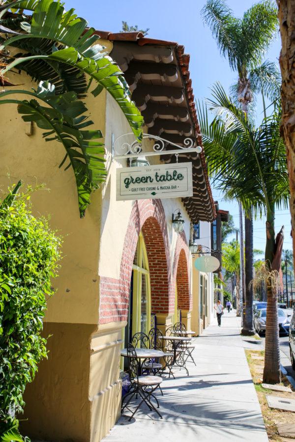 Bows & Sequins Santa Barbara Travel Guide: Green Table Matcha Bar
