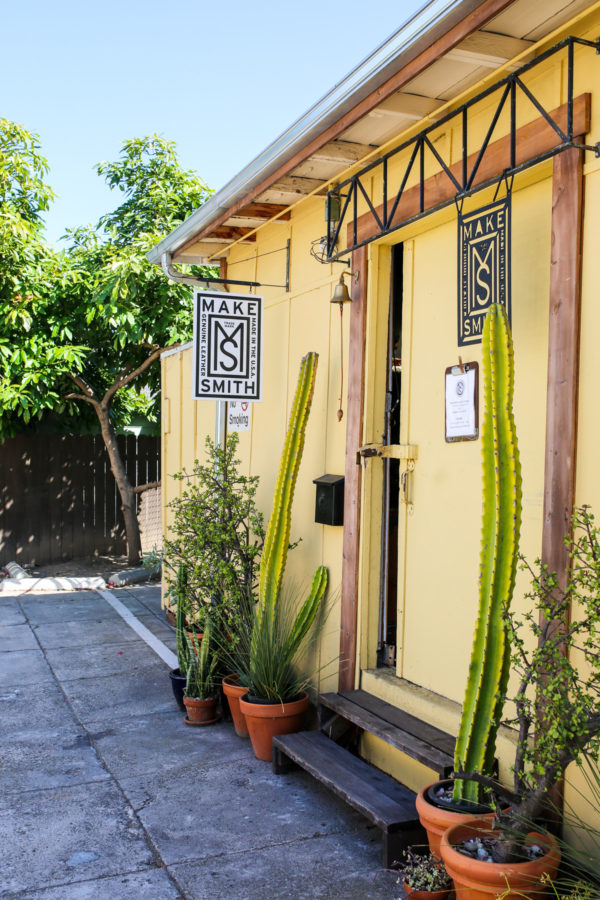 Bows & Sequins Santa Barbara Travel Guide: Make Smith Leather Company