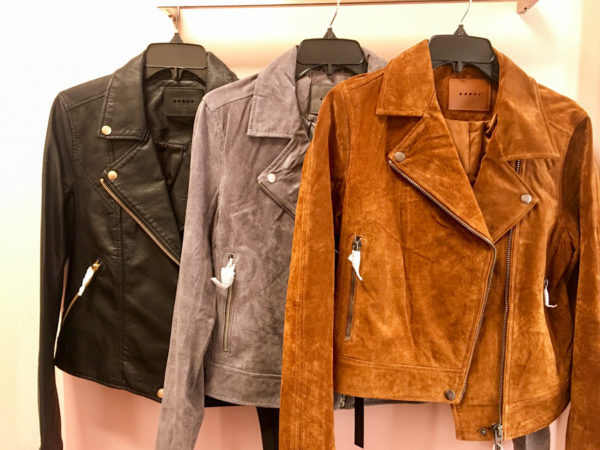 Bows & Sequins Guide to Shopping the Nordstrom Anniversary Sale | What to Buy: Blank NYC Leather Suede Moto Jacket