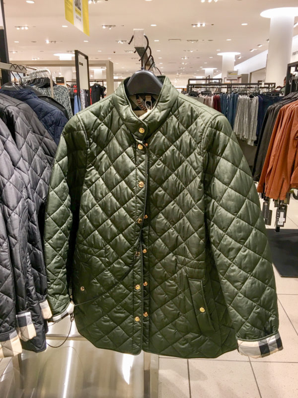 Bows & Sequins Guide to Shopping the Nordstrom Anniversary Sale | What to Buy: Burberry Quilted Jacket