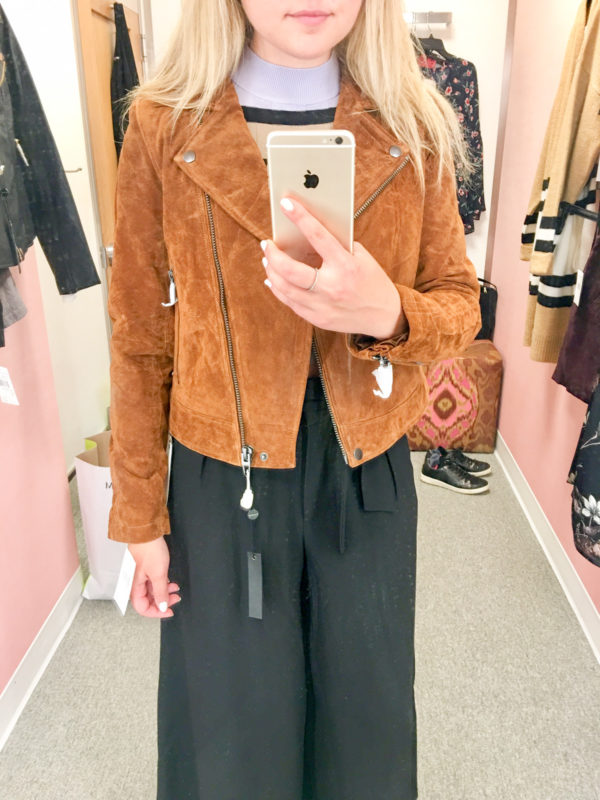 Bows & Sequins Guide to Shopping the Nordstrom Anniversary Sale   What to Buy: Blank NYC Suede Moto Jacket