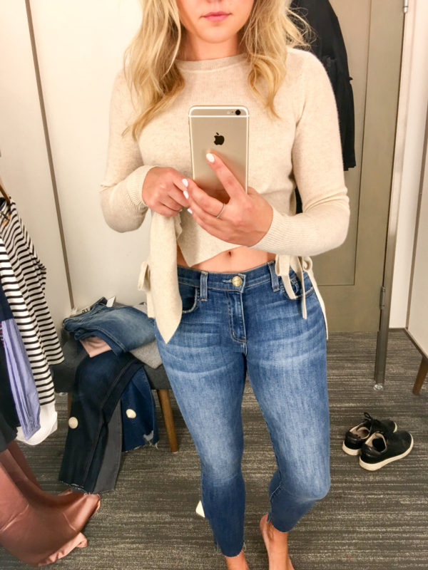 Bows & Sequins Guide to Shopping the Nordstrom Anniversary Sale   What to Buy: Current Elliott Stiletto Raw Step Hem Jeans