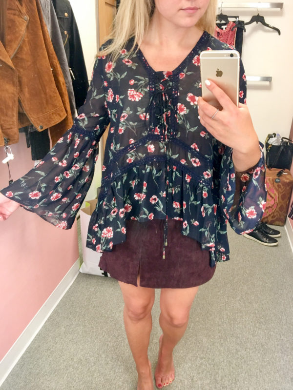 Bows & Sequins Guide to Shopping the Nordstrom Anniversary Sale   What to Buy: Moon River Floral Flowy Blouse