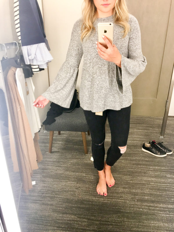 Bows & Sequins Guide to Shopping the Nordstrom Anniversary Sale   What to Buy: Gibson Bell Sleeve Top