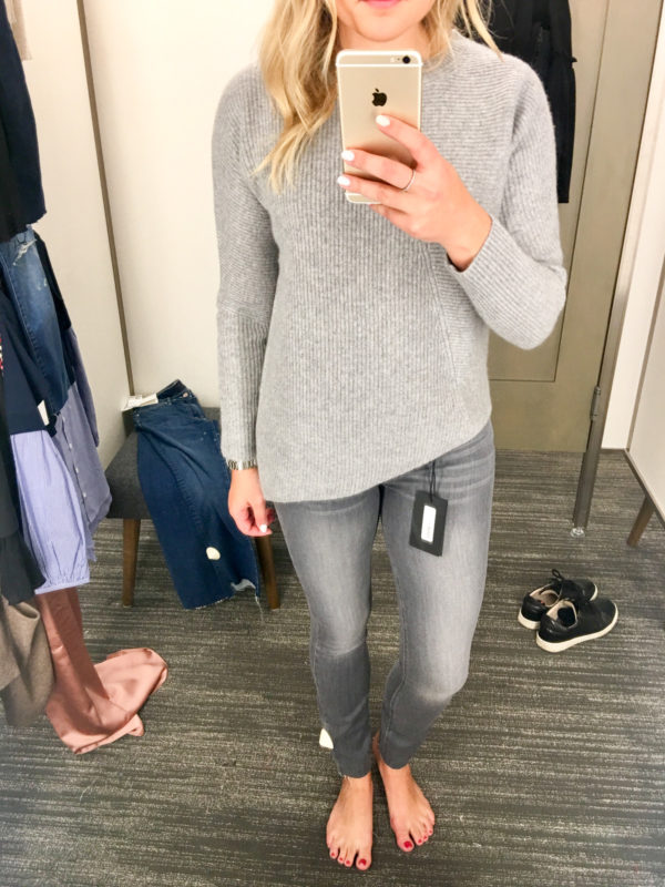 Bows & Sequins Guide to Shopping the Nordstrom Anniversary Sale | What to Buy: Paige Gray Skinny Jeans