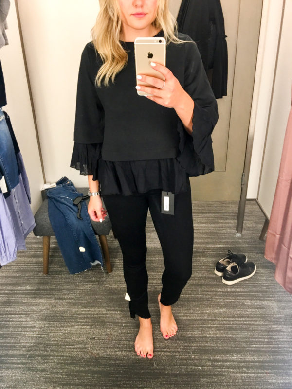 Bows & Sequins Guide to Shopping the Nordstrom Anniversary Sale | What to Buy: Halogen Ruffle Hem Sweater