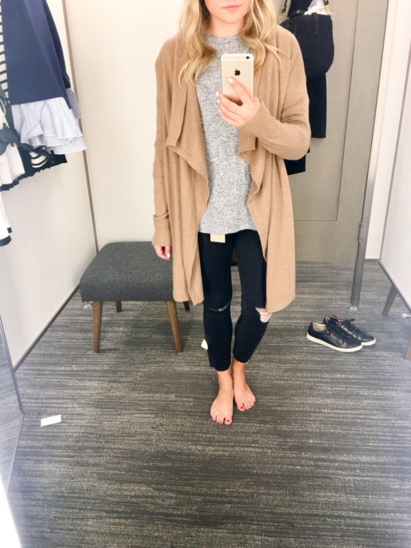 Bows & Sequins Guide to Shopping the Nordstrom Anniversary Sale | What to Buy: Halogen Cashmere Camel Cardigan