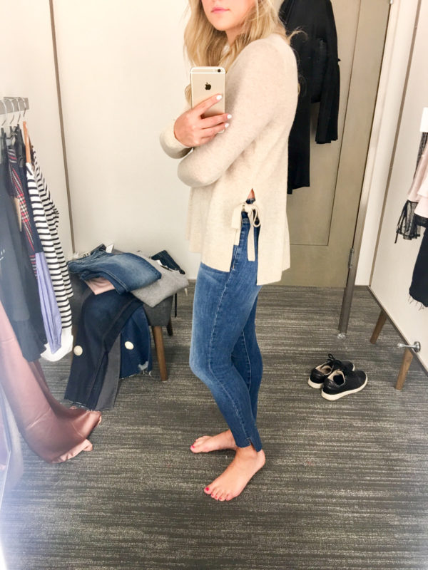 Bows & Sequins Guide to Shopping the Nordstrom Anniversary Sale   What to Buy: Halogen Cashmere Side-Tie Sweater