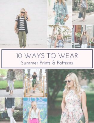 10 Ways to Wear Summer Prints and Patterns on Bows & Sequins