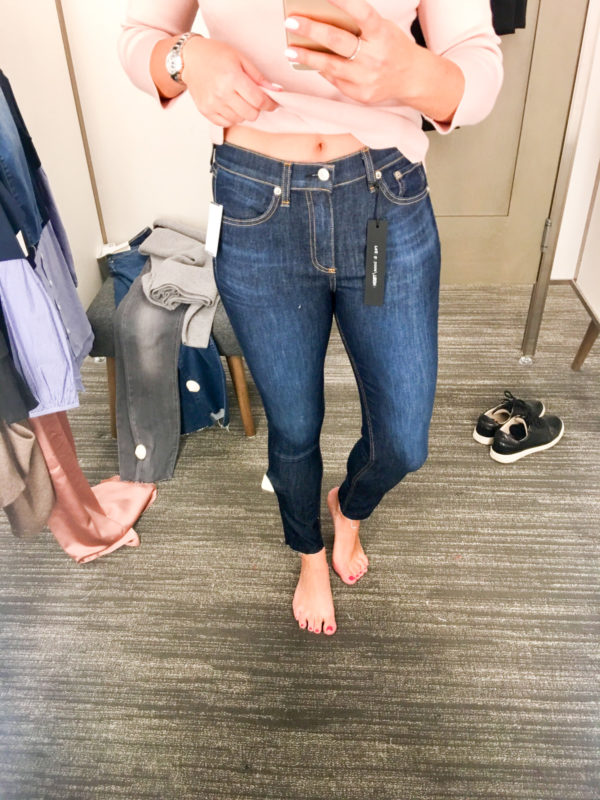 Bows & Sequins Guide to Shopping the Nordstrom Anniversary Sale   What to Buy: Rag & Bone Skinny Jeans with Raw Hem