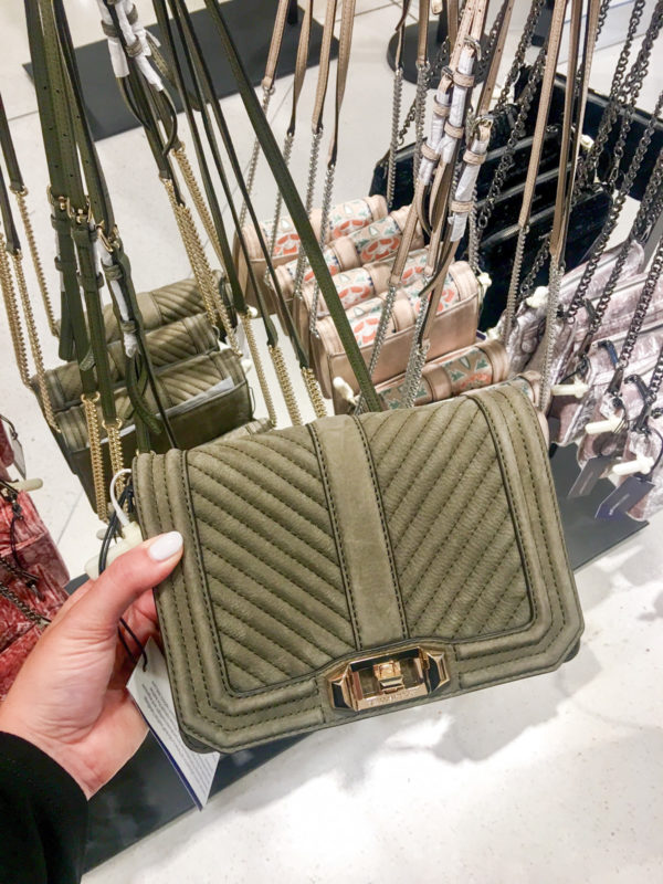 Bows & Sequins Guide to Shopping the Nordstrom Anniversary Sale   What to Buy: Rebecca Minkoff Olive Green Suede Bag