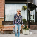 Print Mixing with Florals & Stripes