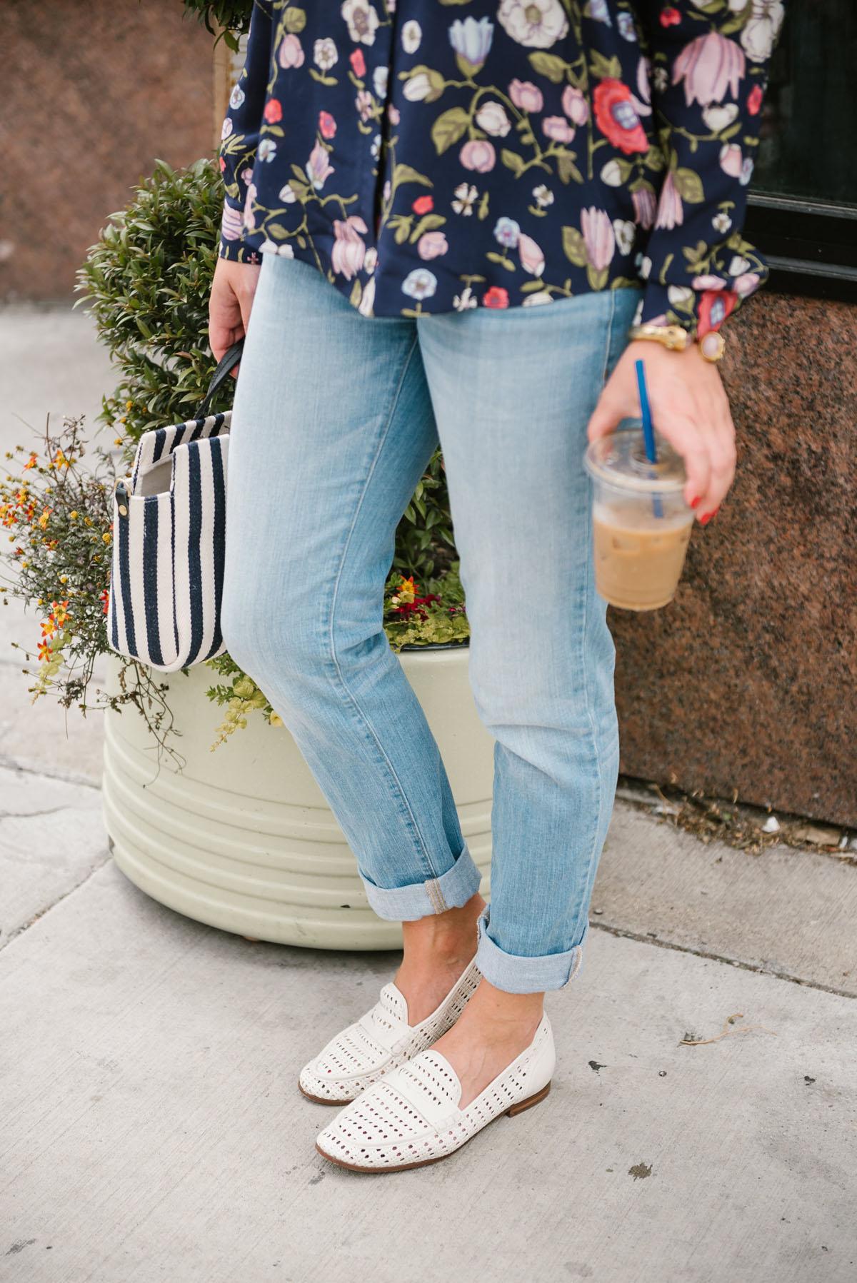 sam edelman white loafers — bows \u0026 sequins