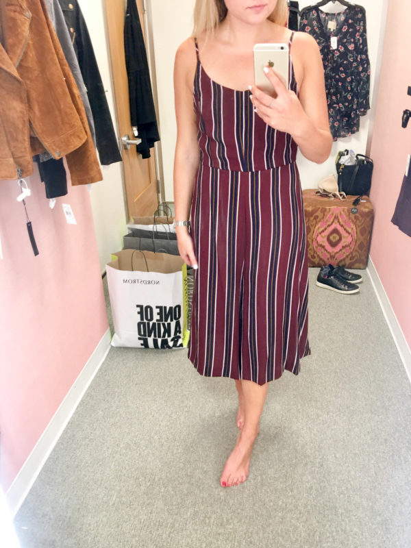 Bows & Sequins Guide to Shopping the Nordstrom Anniversary Sale   What to Buy: Striped Jumpsuit