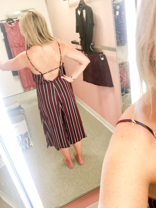 Bows & Sequins Guide to Shopping the Nordstrom Anniversary Sale | What to Buy: Striped Open Back Jumpsuit