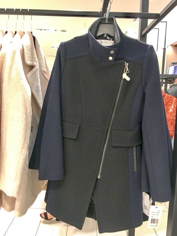 Bows & Sequins Guide to Shopping the Nordstrom Anniversary Sale   What to Buy: Trina Turk Navy & Black Asymmetrical Zip Jacket